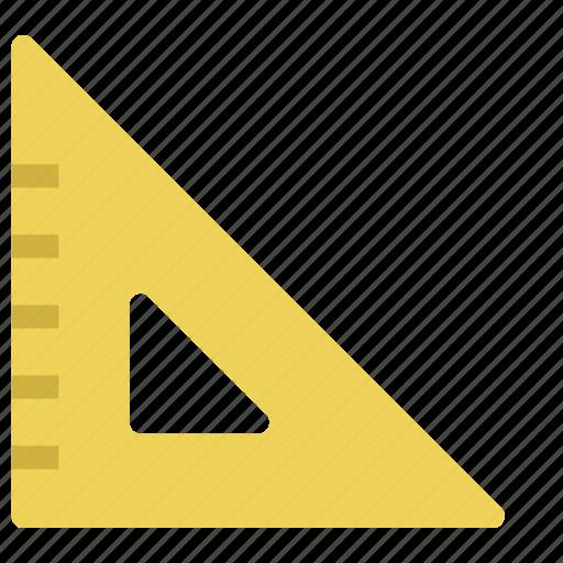 design, education, measure, meter, ruler, school, tool icon