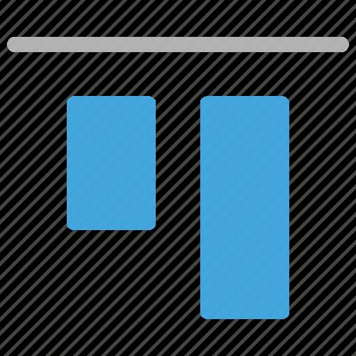 align, design, development, top icon
