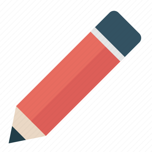 draw, edit, education, pen, pencil, school, write icon