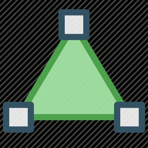design, development, shape, triangle icon