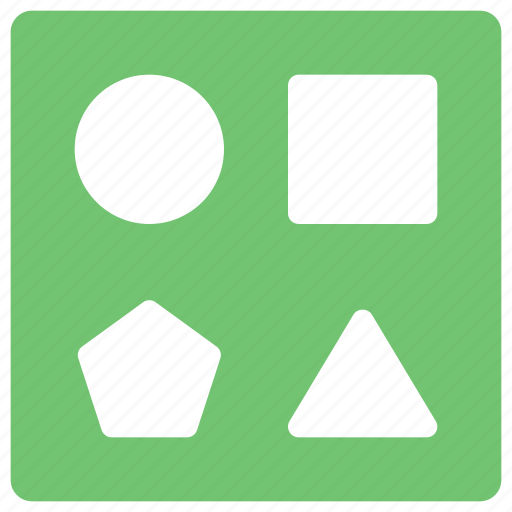 design, development, group, shape icon