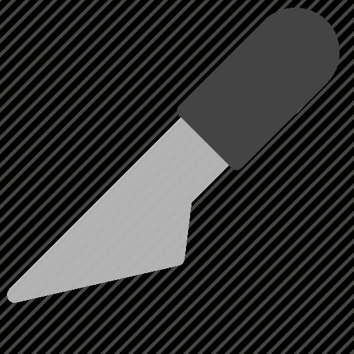 design, development, knife, paper, slice icon
