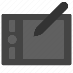 art, design, development, graphic, tablet icon