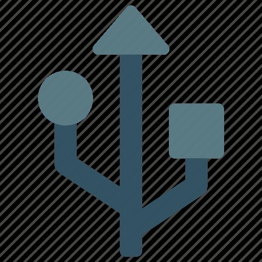 design, development, pen, technology, usb icon