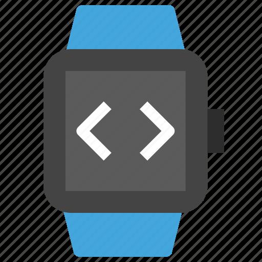 android, app, code, design, development, ios, watch icon