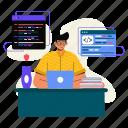 programmer, coding, programming, development, work