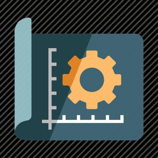 Design development flat future is now by chanut is industries blueprint design development process prototype prototyping ux icon malvernweather Images