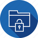 access, documents, folder, holder, nopassword, security, unlock icon