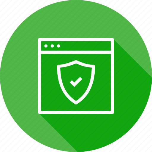 page, secure, seo, shield, web, webpage, website icon