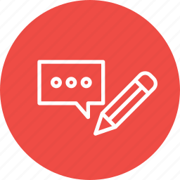 content, editing, engagement, marketing, social, strategy, writing icon