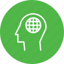 creativity, internet, man, mind, power, webpage, website icon