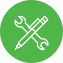maintenance, pen, services, setting, support, tools, wrench