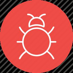 bug, fixing, insect, repair, seo, virus, web icon