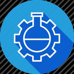 data, glass, optimization, seo, settings, tube, web icon