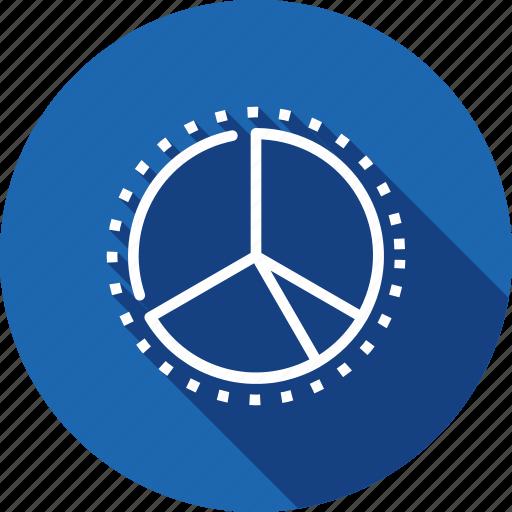 analysis, chart, performance, pie, statics, web icon