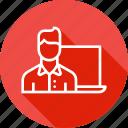 calculation, male, optimization, seo, visitor, webpage, website
