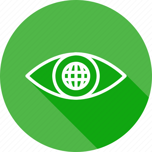 eye, internet, mission, search, view, vision, web icon
