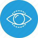 eye, find, idea, mission, search, view, vision icon