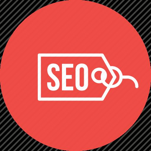 engine, label, optimization, search, seo, tag, web icon