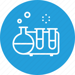 bubble, experiment, project, research, science, study, testtube icon