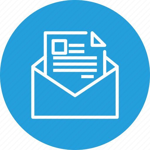 campaigns, email, envelope, letter, marketing, newsletter, seo icon