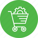 cart, commerce, e, online, services, shopping, solution