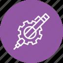 gear, optimization, pen, preferences, seo, settings, web