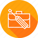 bag, carry, manage, office, preferences, repair, setting icon