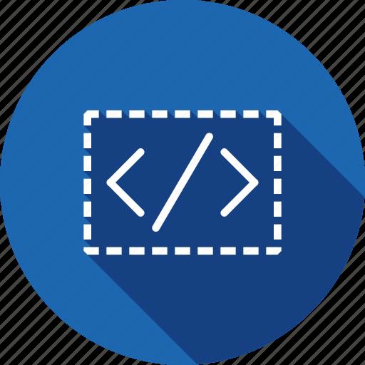 coding, custom, portal, seo, service, site, web icon