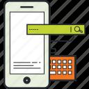 application design, design, development, illustration, mobile icon