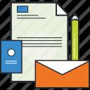 branding, design, graphic design, stationary, vectors icon