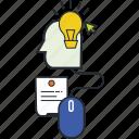 brain storming, creative, creative idea, design, idea, vectors icon