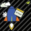 design, development, planning, project startup, scrum icon