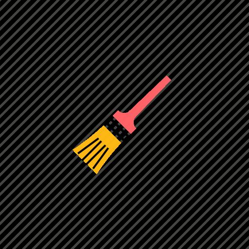 art, brush, color, design, paint, tool icon