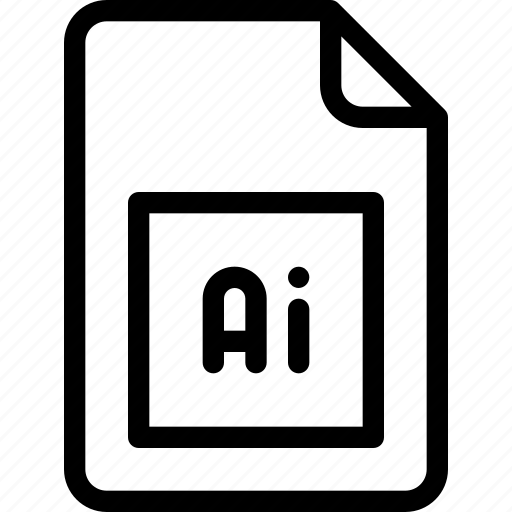 Adobe, document, file, illustrator, vector file icon - Download on Iconfinder