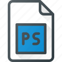 design, extension, file, page, photoshop, psd, type