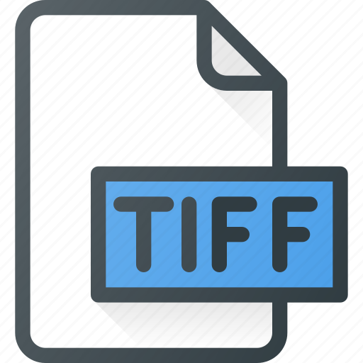design, extension, file, page, tiff, type icon