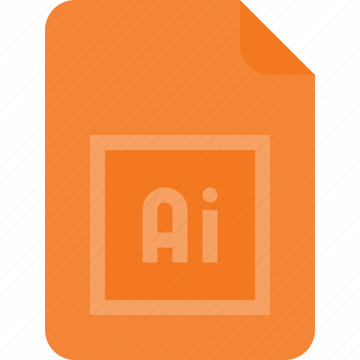 adobe, design, extension, file, illustrator, page, type icon