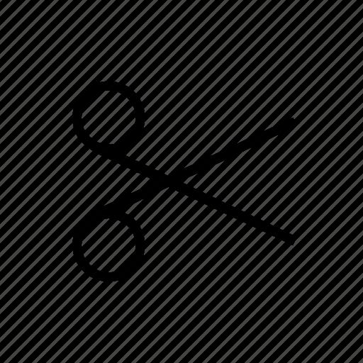 Collage, scissors, cut, design icon