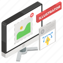 artwork, creative design, digital art, graphic design, graphic tool, vector illustration