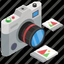 camera, digital camera, electronic camera, photoshoot equipment, picture camera icon