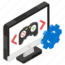 game design, game development, gaming gadgets, online game, playstation, video game icon