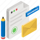 blogging, branding, content writing, copywriting, promotional email icon