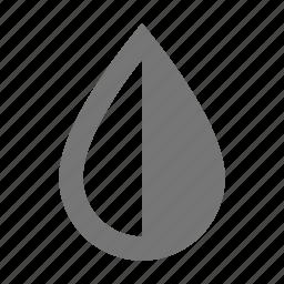 color, contrast, drop icon