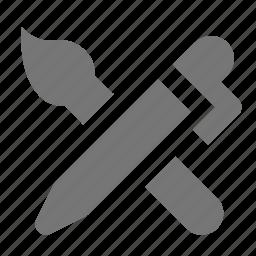 brush, pen icon