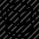 3d, box, cube, design, object icon