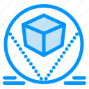 box, deliver, packages, store icon