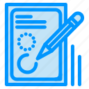 design, document, drawing, edit, pencil icon