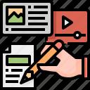 design, content, tools, edit, interface, pencil