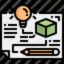 design, idea, pencil, industry, prototype